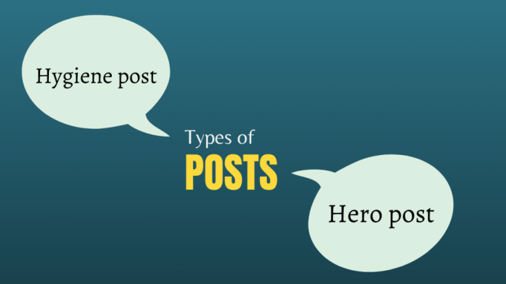 types of posts