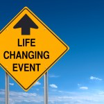 Life Changing Event Ahead Road Sign