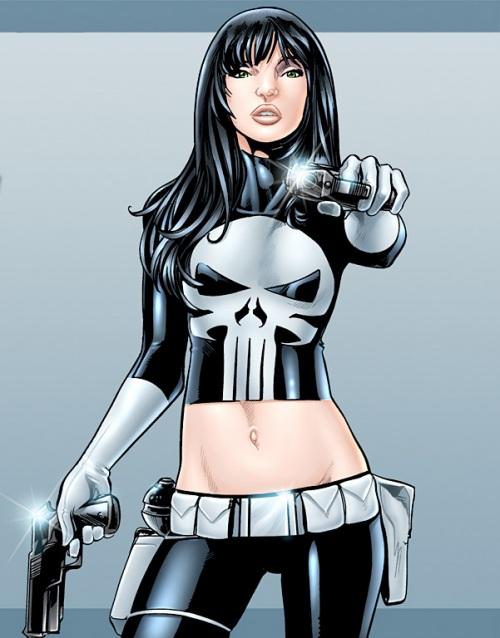 If superheroes were women.