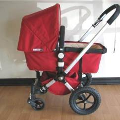 Leather Swivel Chair Executive Red Bugaboo Frog Stroller | Moving Sale