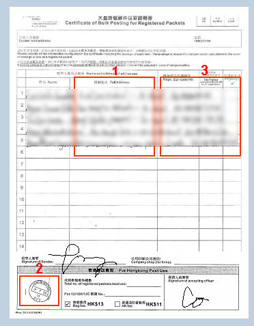 Shipment Tracking Information for Hong Kong Sellers: