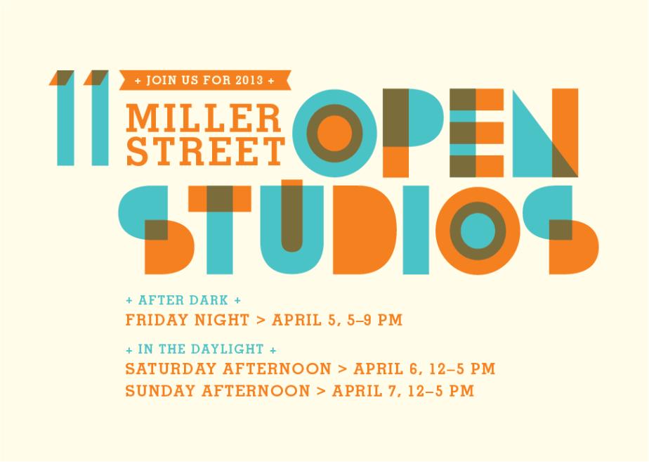 2013 Miller Street Open Studios