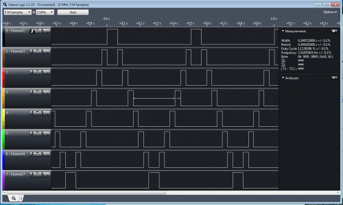 The output of whixr's sample code on the MorePi Me v1