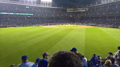 NLCS Game 1 Bleachers