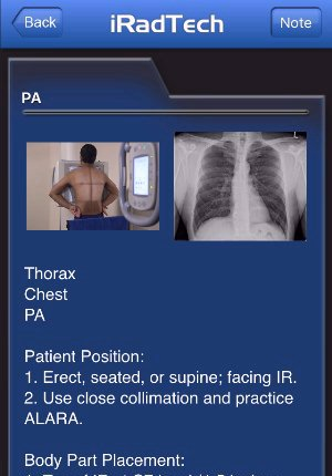 radiographic positioning guide apps iradtech rh iradtech com Radiographic Positioning and Procedures Radiography Human Positioning