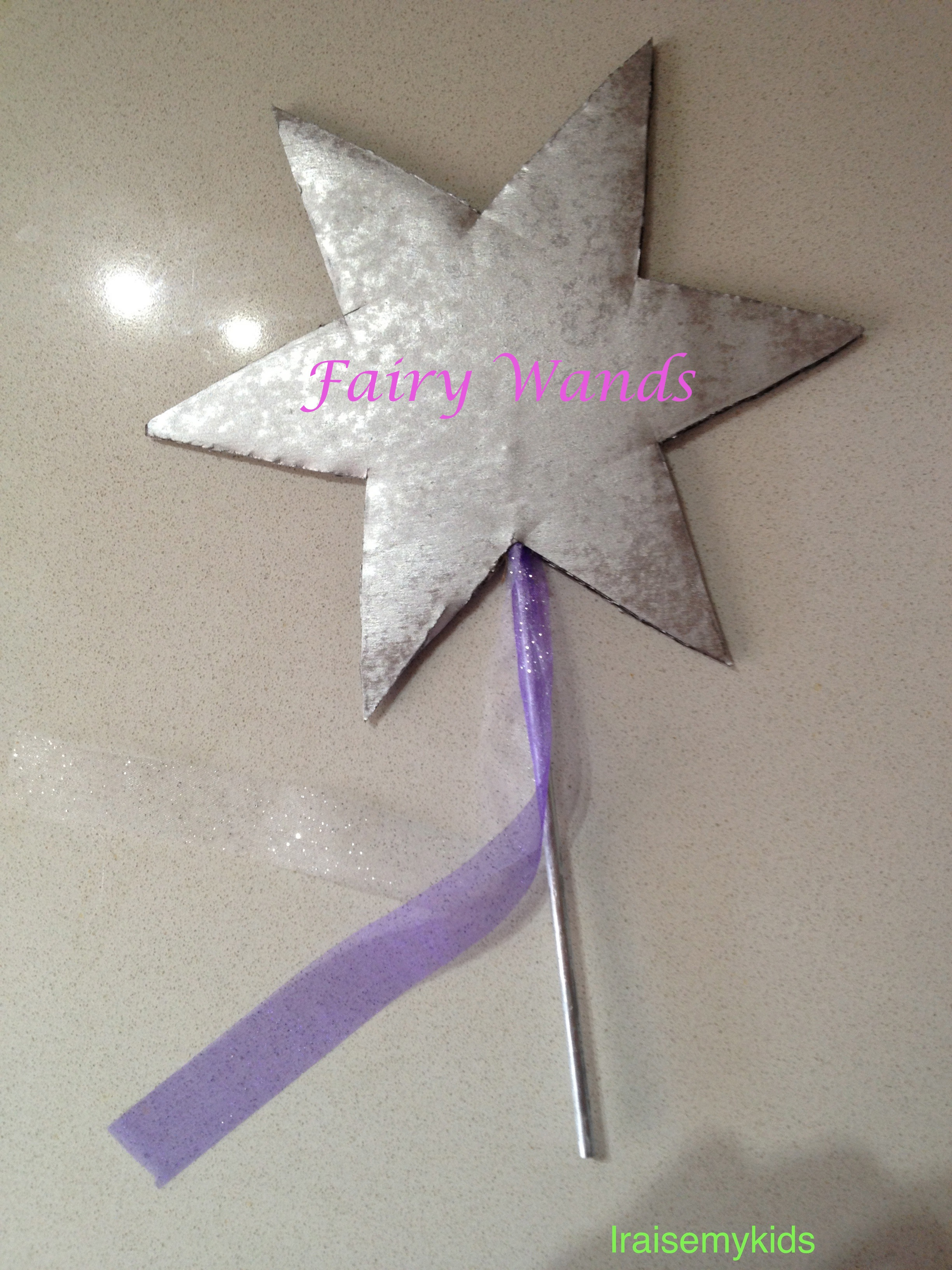 Make Your Own Fairy Wands I Raise My Kids