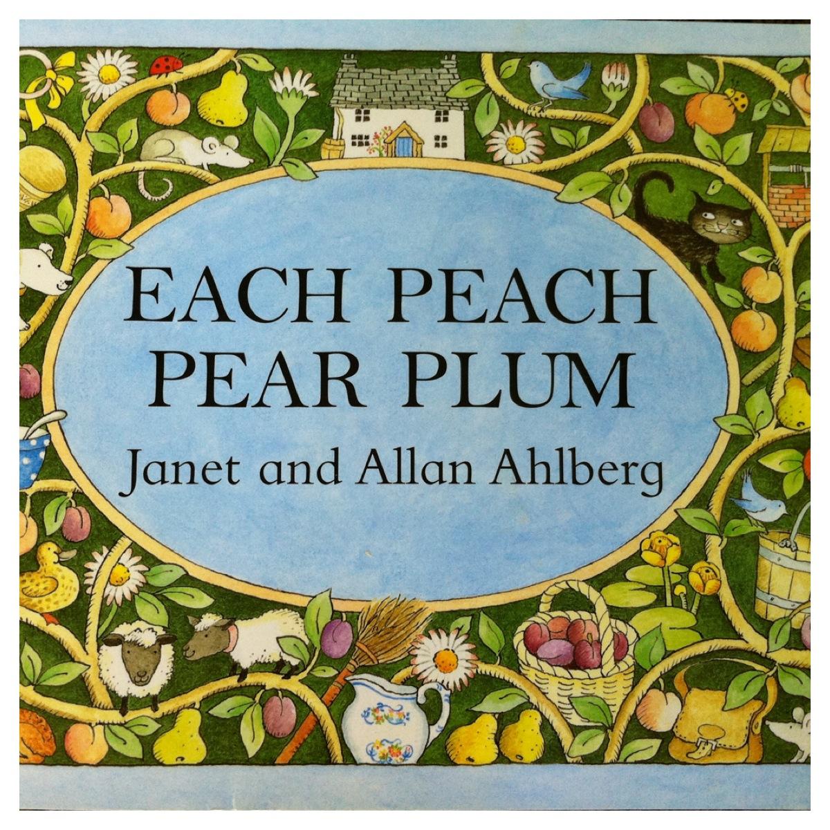 Each Peach Pear Plum Book Review