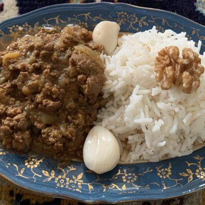 Khoresh bademjan : recette de ragout d'aubergines iranien
