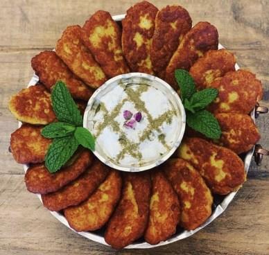 Koukou sibzamini : galette iranienne aux pommes de terre
