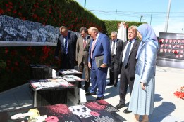 مريم رجوي ندوة الجاليات الايرانية ذكرى مجزرة 1988 في ايران 4