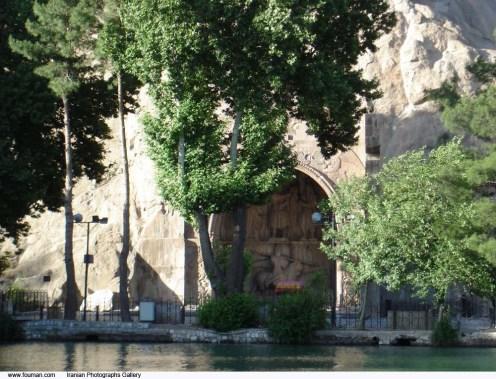 Kermanshah_Taghebostan_Pool