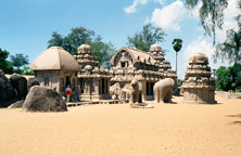 Image of Pallava Temple at  Mamallapuram