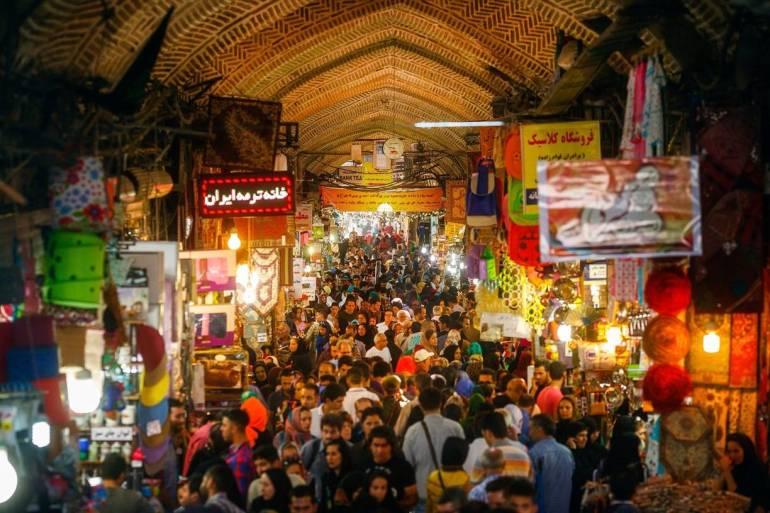 The Tehran Grand Bazaar is Worth Seeing