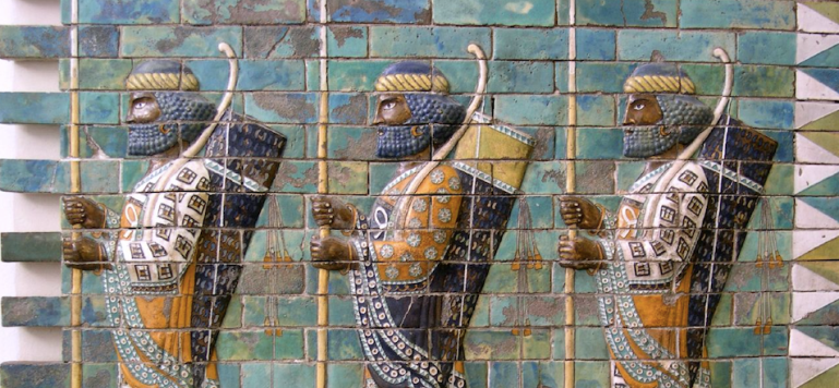 iranian warriors 500 bc