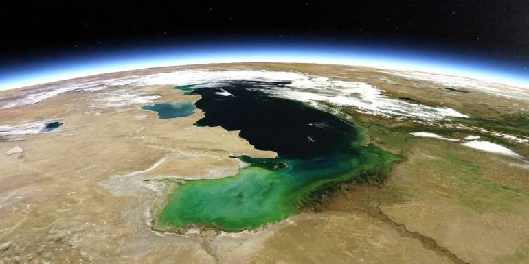 Collective Security in the Caspian Sea: Iran has conflicts of interests with all 4 other countries in the Caspian Sea
