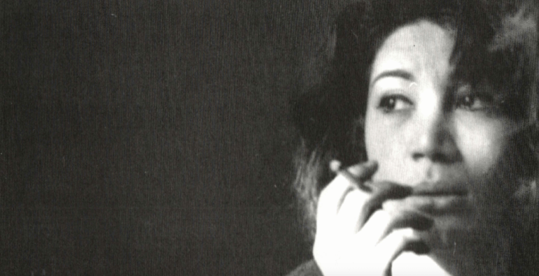 Iranian poet and filmmaker Forough Farrokhzad