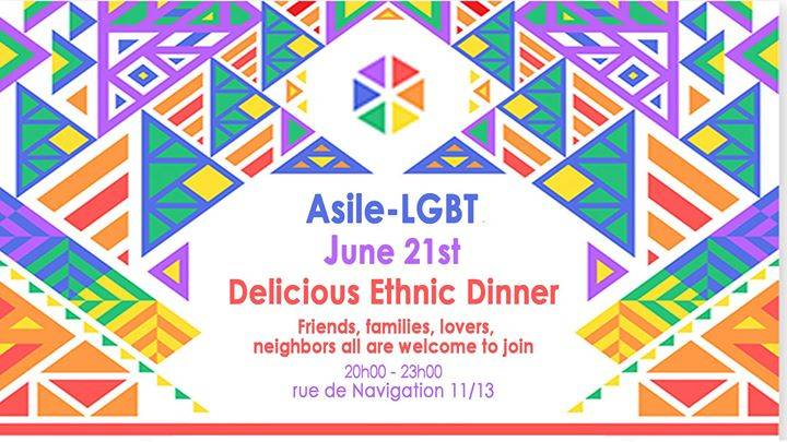 Iranian Dinner Hosted by Asile