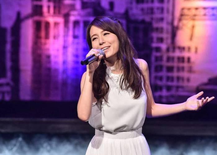 Iranian-Japanese pop star May J