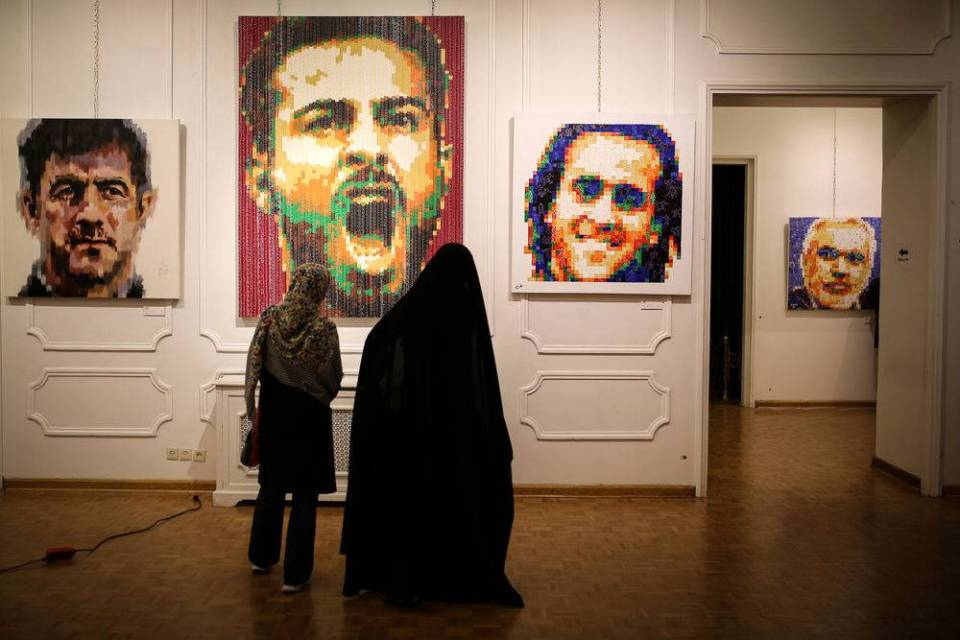 Iran art gallery