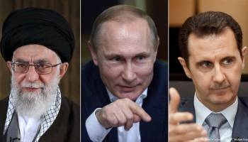 V勝利のために:イラン、ロシア、アサド
