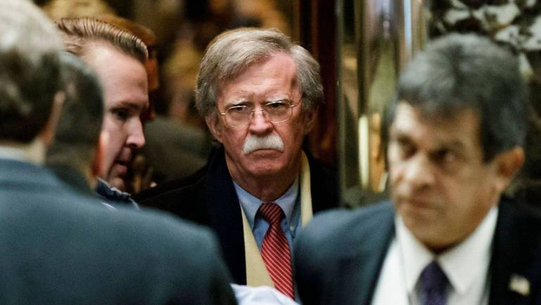John Bolton behind the typo relating to Iran