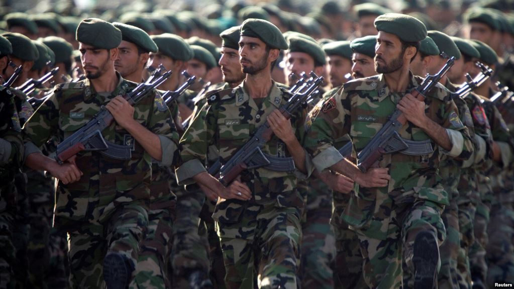 Iran's revolutionary guards kill four militants near Pakistan border