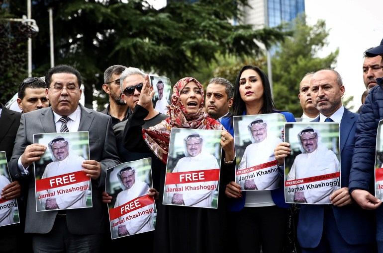 Disappearance of Prominent Saudi journalist Jamal Khashoggi