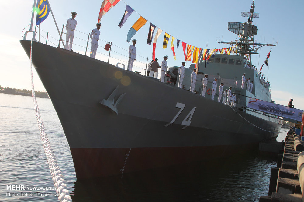 Iran launches most advanced indigenous destroyer