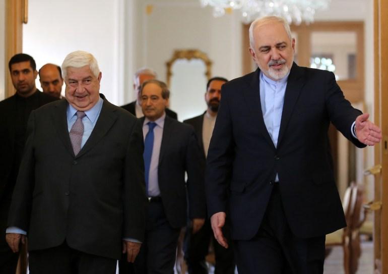 IRAN-SYRIA-DIPLOMACY