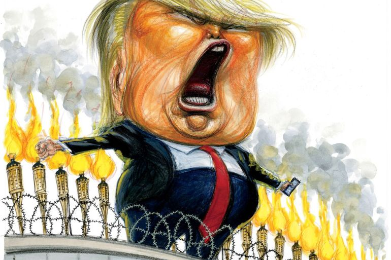 Madness of Donald Trump