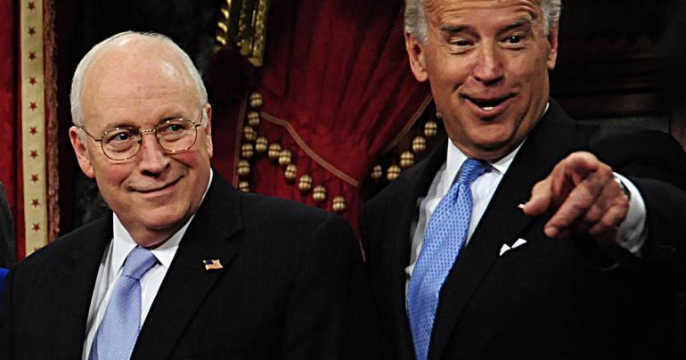 US Senator and Vice President-elect Joe