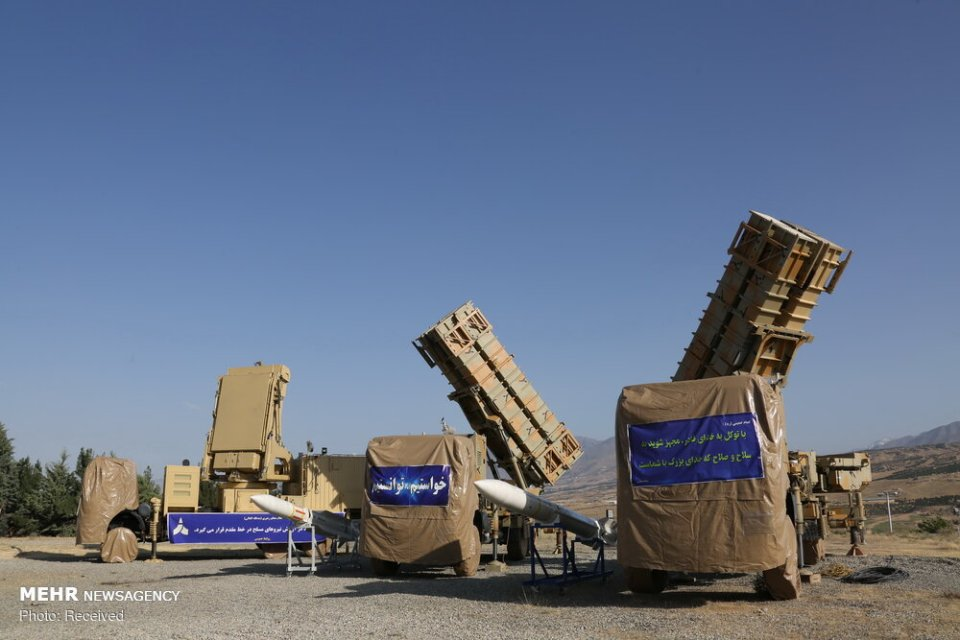 Iran Unveils New Air Defense Missile System Pictures And -2531