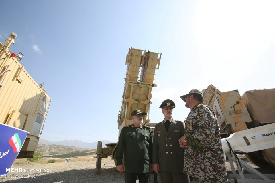 Iran Unveils New Air Defense Missile System Pictures And -3403