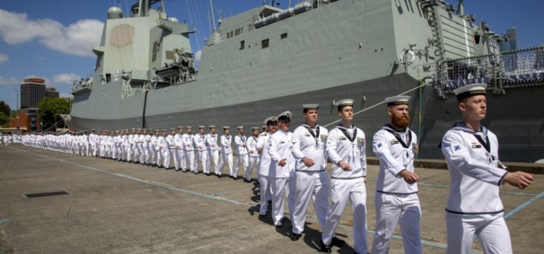 royal-australian-navy-commissions-second-awd-destroyer-brisbane