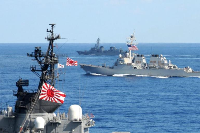 Japan-navy-officers-attend-maritime-security-ceremony-in-South-Korea