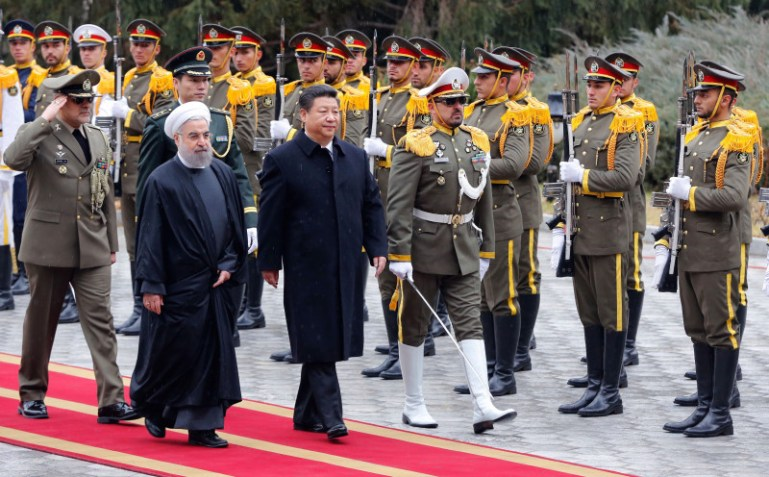 IRAN-CHINA-POLITICS-DIPLOMACY