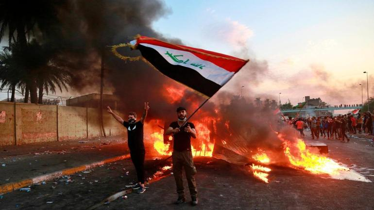 APTOPIX-Iraq-Protests