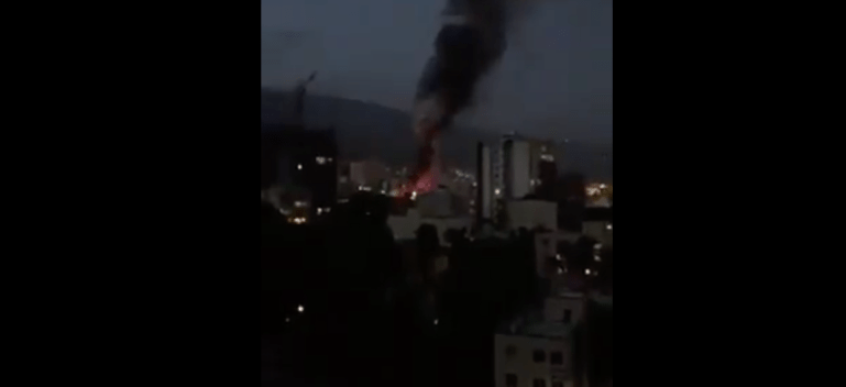 Explosions in tehran