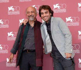 Mokri, Shahram - Iranian film director and writer 4 - 70th Venice International Film Festival 2013 - Babak Karimi & Shahram Mokri