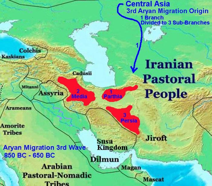 Iran Politics Club: Iran Historical Maps 1: Susa Kingdom, Aryan Migration,  Median Kingdom