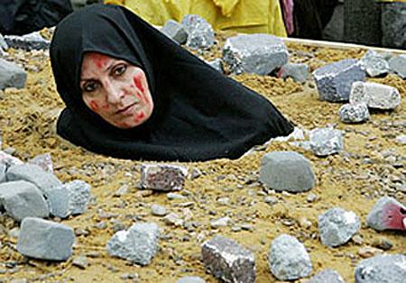 Image result for stoning women in the middle east