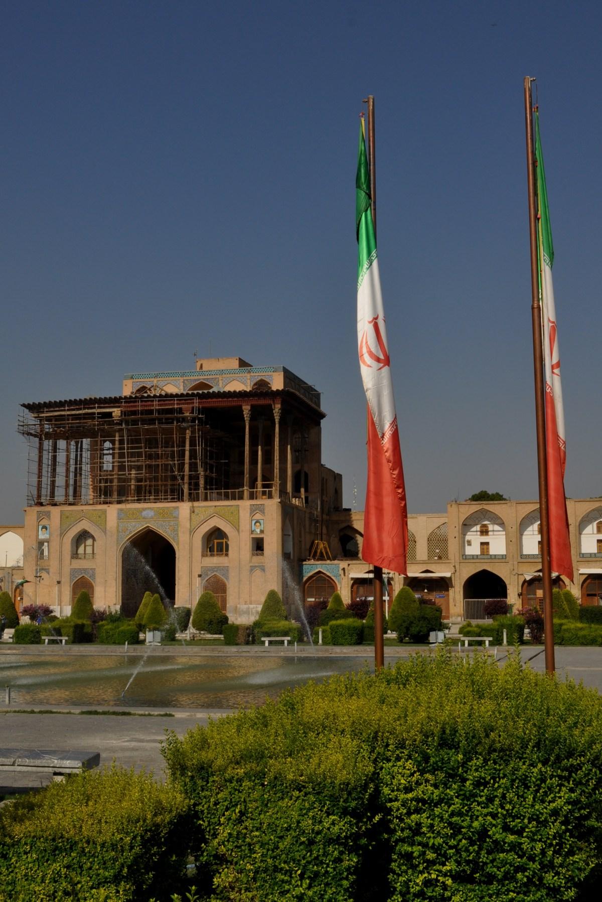 Ali Qapu Palace - Isfahan