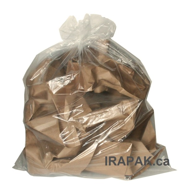 Garbage Bages Black Clear Regular Strong Extra