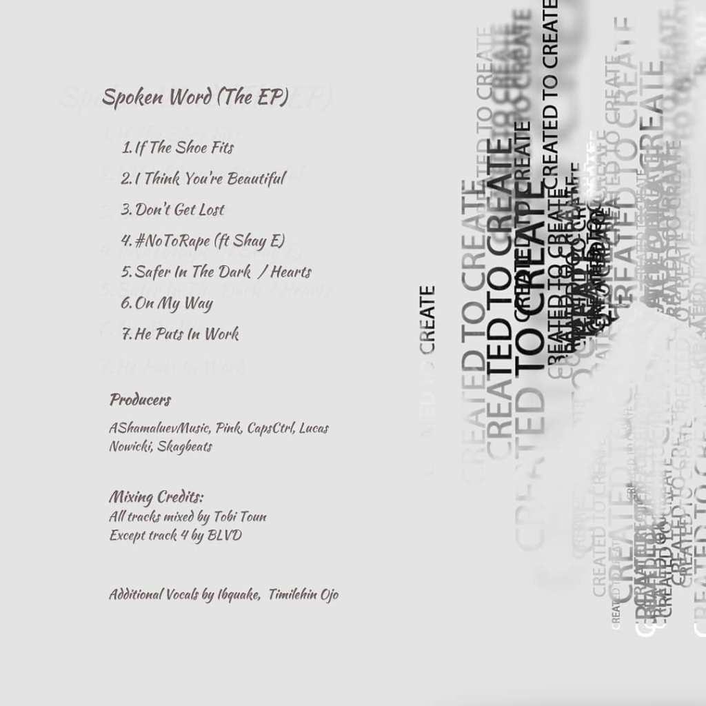 Spoken Word Tracklist