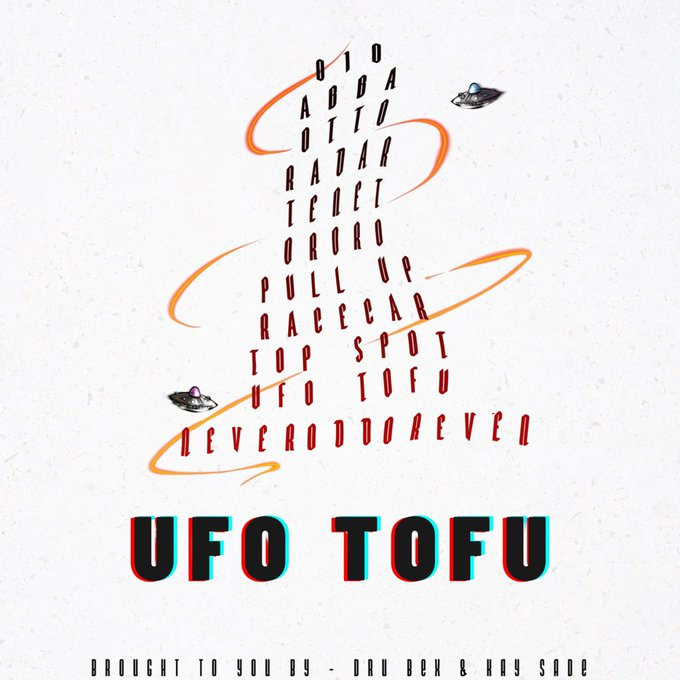 UFOTOFU tracklist