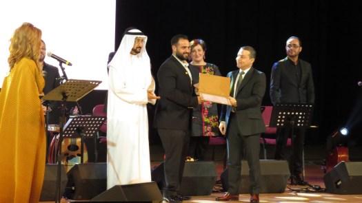 تكريم السيد محمد سليمان – شركة العرين للانتاج والتوزيع الفني