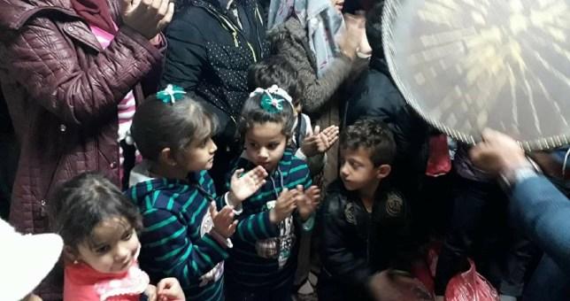 مع اليتامى والمسنين في ذكرى المولد النبوي