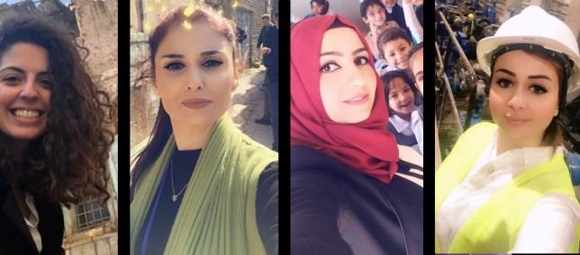 المرأة تعيد بناء العراق