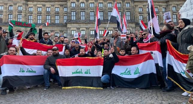 ابناء الجالية العراقية في هولندا اليوم