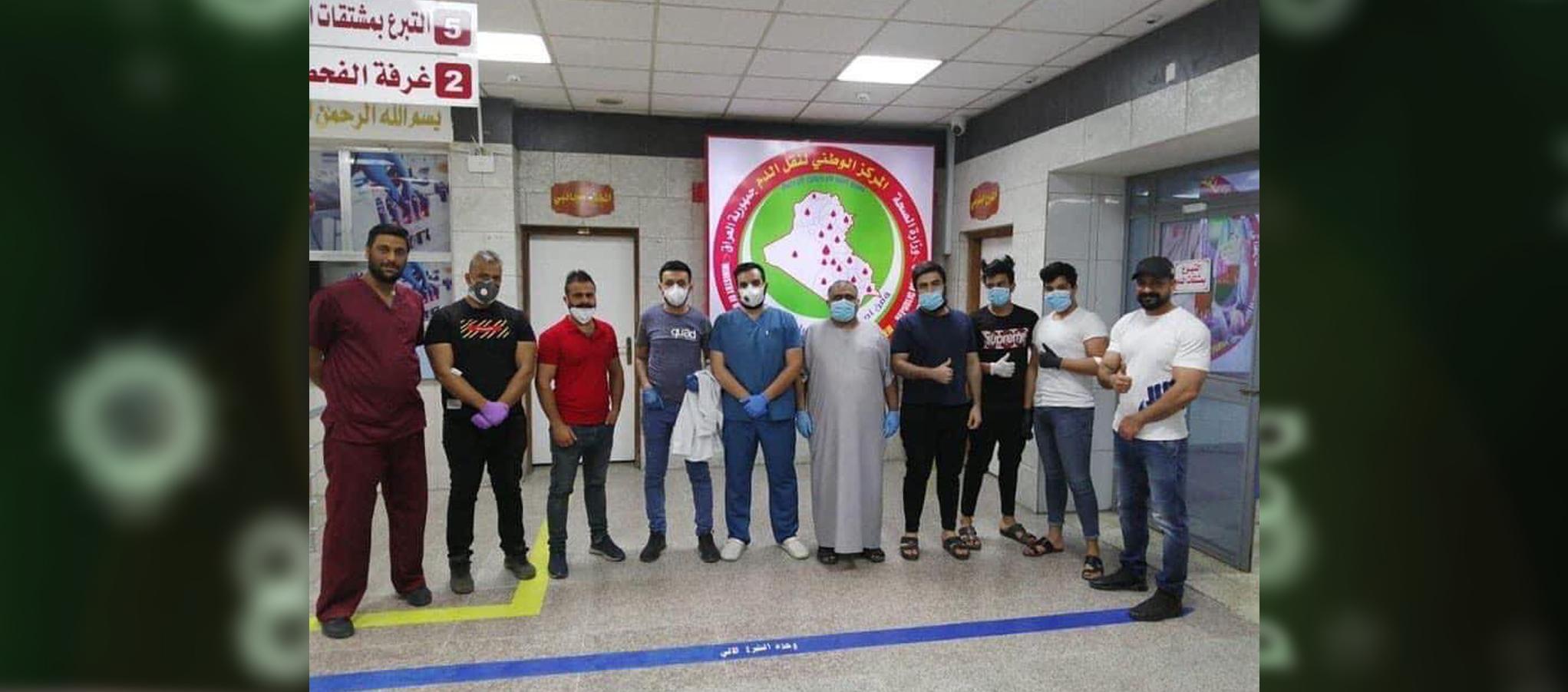 عائلة مشافه من فيروس كورونا تتبرع بالدم مجاناً